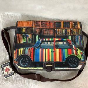 Paul Smith Mini Cooper Rainbow Library Messenger